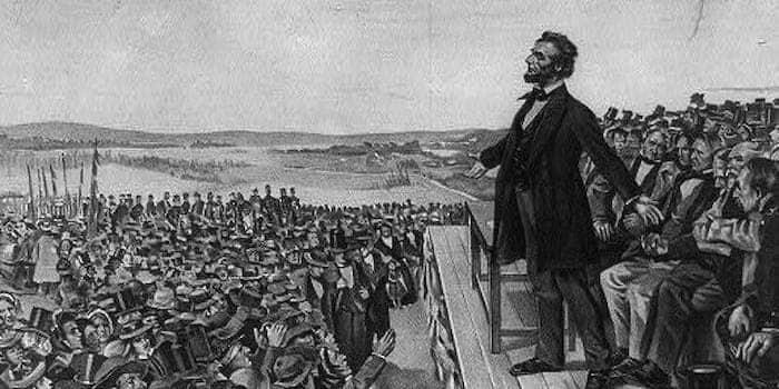 リンカーン大統領演説