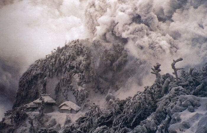 雲仙普賢岳の噴火