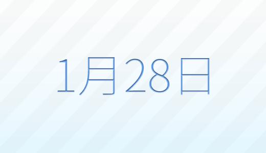 1月28日は何の日?記念日、出来事、誕生日占い、有名人、花言葉などのまとめ雑学