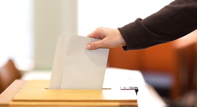 選挙での投票
