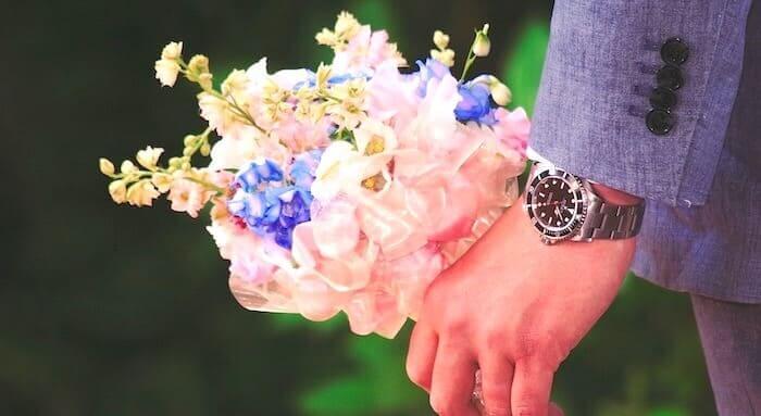 花束のギフト