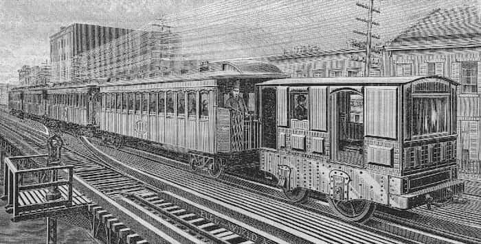 蓄電式電車
