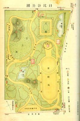 日比谷公園図