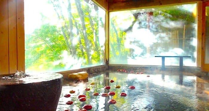 中棚荘温泉