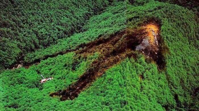 御巣鷹山・日本航空123便墜落事故