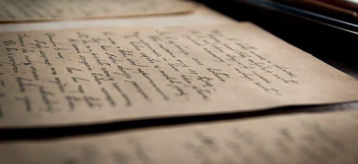 手紙の文字