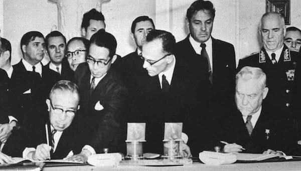 日ソ国交回復の調印