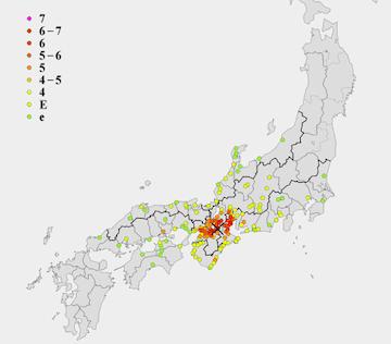 伊賀上野地震
