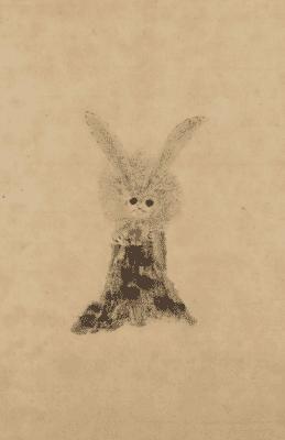 家光画:「兎図」