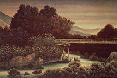 徳川慶喜作 油絵3