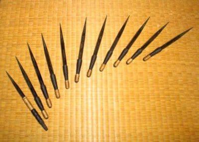 角型手裏剣